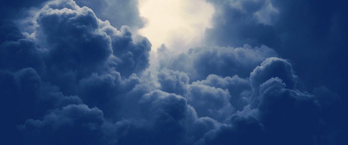 Blue clouds
