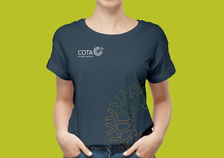 COTA SA shirt designed by communikate