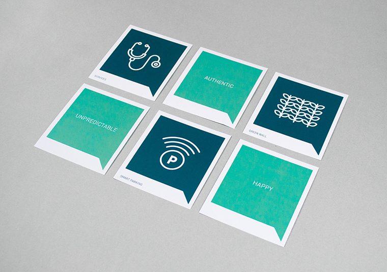 Design King William stationery designed by communikate