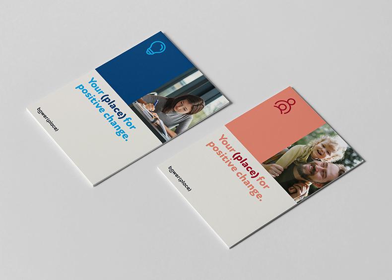 Bower Place booklets designed by communikate et al