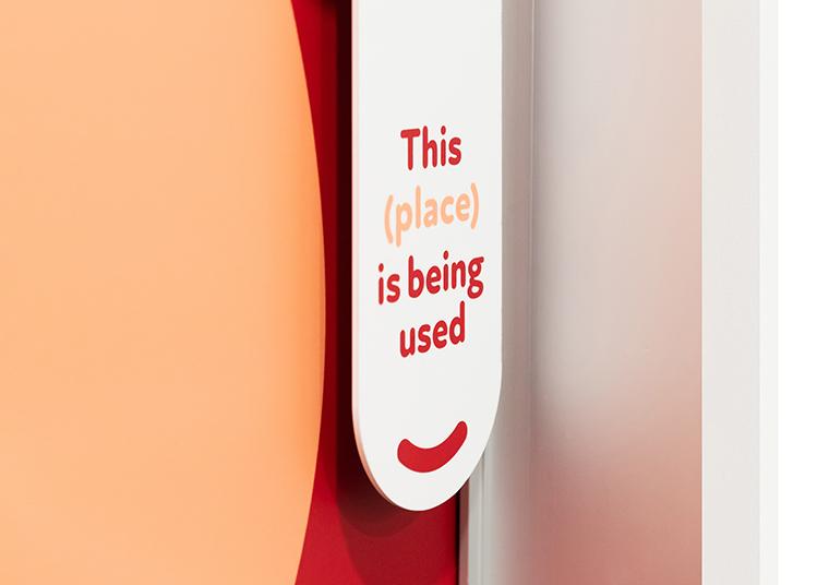 Bower Place door signage designed by communikate et al