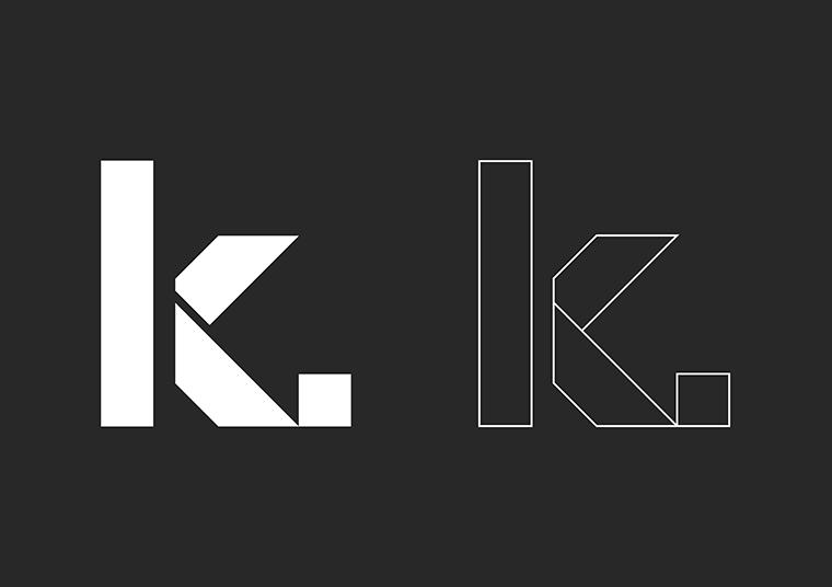 Positive and reverse Kennett Builders logo
