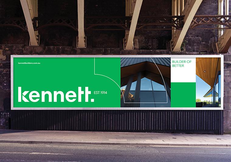 Kennett Builder signage